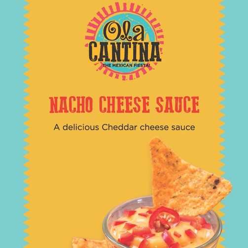 Munching wouldn't be half as exciting without cheddar cheese sauce & nachos.