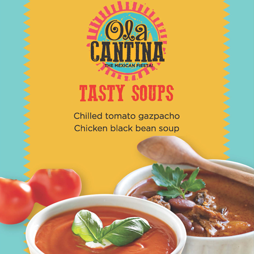 Sample hot, freshly made soups at all our Foodhall stores. Yum! Yum!