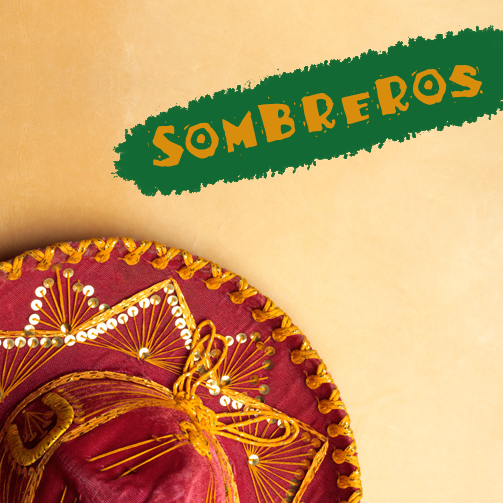 Hosting a #Mexican party? Make sure to give your invitees Sombreros as take-away gifts. :D #MexicanFlavour