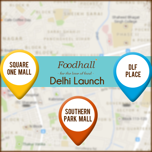 And the #contest begins: Guess the area in which the 3rd Delhi Foodhall store will be launched. #DelhiLaunch