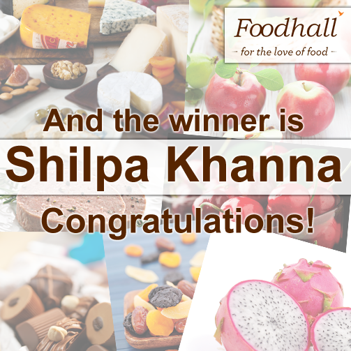 The #winner of our contest is Shilpa Khanna! Congratulations! Please DM us your contact details we shall get in touch with you :)