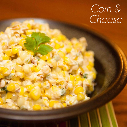 Cheese and corn are an important part of Mexican cuisine. So much so, they are present in almost every dish.