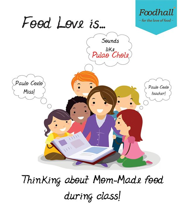 Hunger pangs during class? Reason enough to miss mom's food. #FoodLove