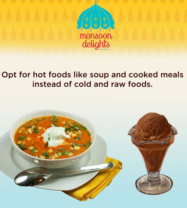 Slurp on soup to keep the monsoon greys at bay!
