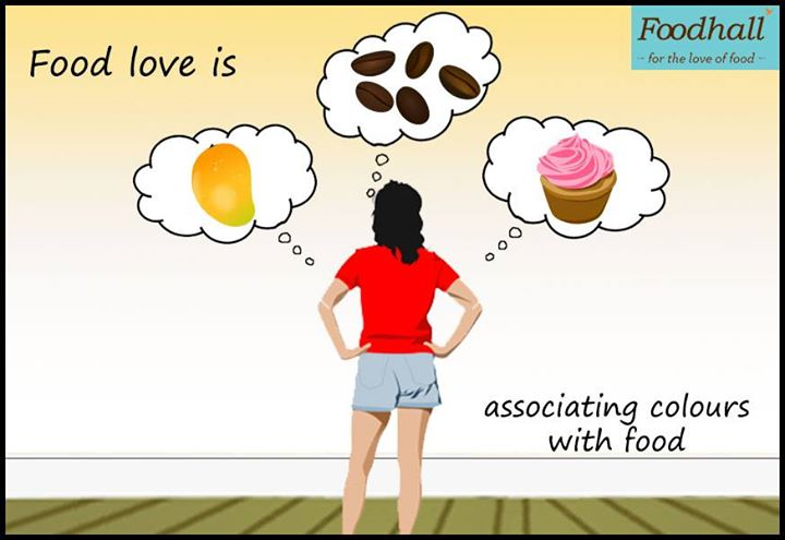 Matching the paint of your walls with your favourite food.   Tell us what #FoodLoveIs means to you :)