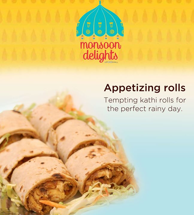 Fulfill your appetite while delighting your taste buds with enticing kathi rolls.