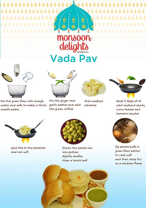 Vada Pav- Straight from the heart of Maharashtra, here's a quick and simple way to relish this iconic dish at home!