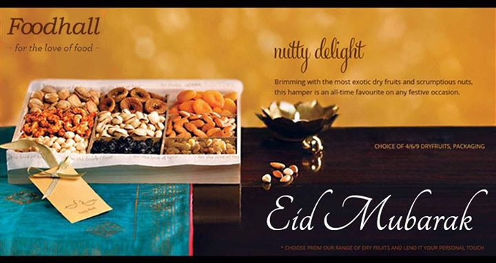Looking for the right gift for Eid? Try our Nutty Delight gift hamper which is an exotic collection of premium dry fruits and nuts, perfect for the occasion. Eid Mubarak!