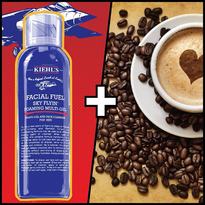 Kiehl's in association with Foodhall India brings to you 'The perfect menu for #HealthyLiving' - your daily guide to 5 wonderful pairings of healthy food and Kiehl's products.  Day #4: Let's say ENERGY! Rev up your skin with a burst of Facial Fuel and if that wasn't enough to wake you up- might we suggest a steaming cup of your favourite poison- Coffee! How do you keep yourself energized?