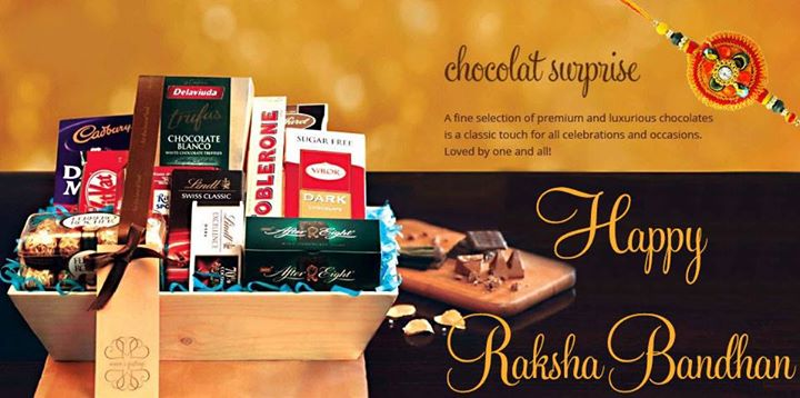 Celebrate the unique bond between a brother and a sister with our beautiful gift hampers. Gift your sister a sweet surprise of a fine collection of premium and luxurious chocolates this Rakshabandhan!
