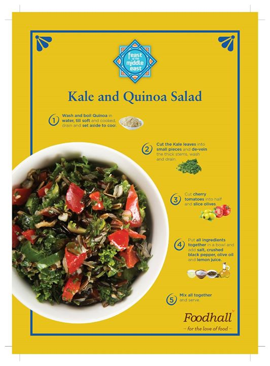Featured by the Little Black Book, Delhi for this delicious Kale and Quinoa salad packed with a ton of nutrition and flavour  Avail all that you need to make this the perfect accompaniment to your meal at our stores!