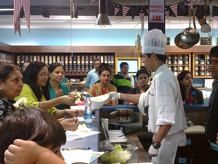 The masterclass part of the American Festival at Foodhall happening now at Palladium, Mumbai! Are you here yet?