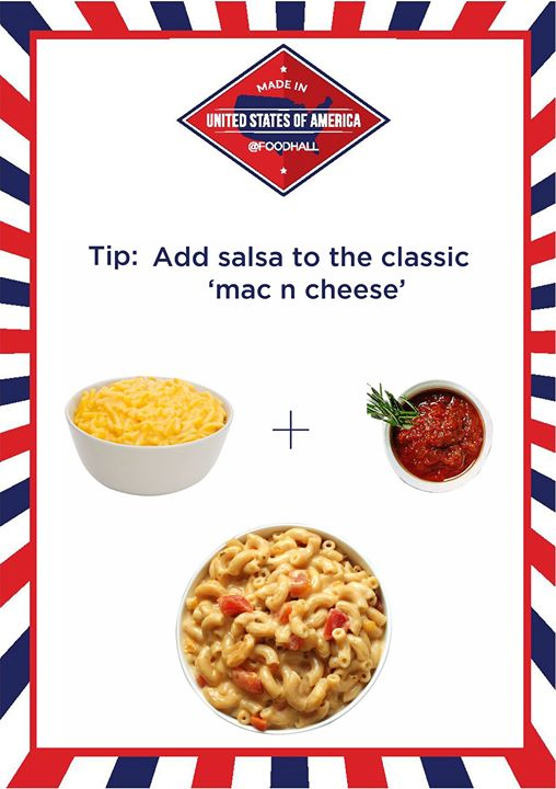 Spice up your favorite Mac n Cheese with a twist of salsa.