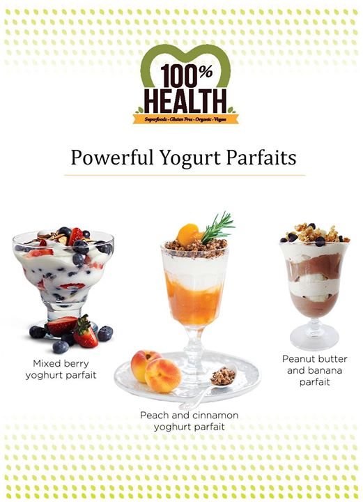 For a delicious grab and go breakfast, try our nutrition packed yogurt parfaits available at Foodhall!