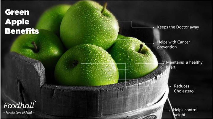 Grab a few Granny Smith apples today! Packed with a lot of nutrients, they're not just yummy but healthy too!
