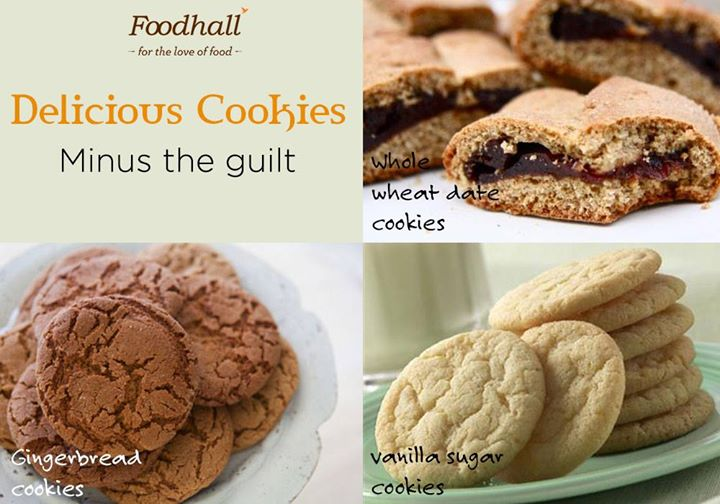 Cookies: A uniquely satisfying and indulgent guilt-free dessert!