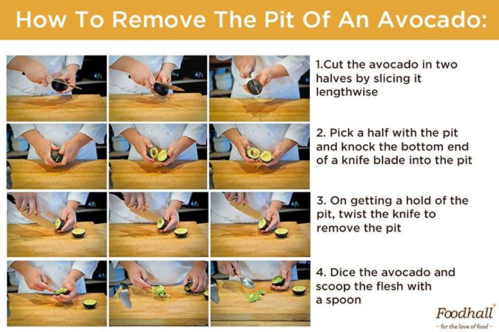 Getting rid of the pit in an avocado can be a task! Here's how to do it right, with ease: