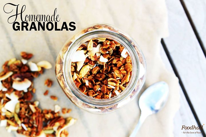 Start your day with an energy boosting yet comforting treat of fresh granola available at Foodhall!