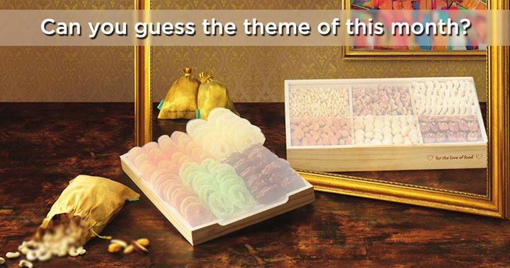 On the onset of the festive season, can you guess our theme of the month?