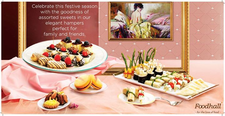 Sweetness galore this festive season with an assortment of delicious sweets in our beautiful platters.