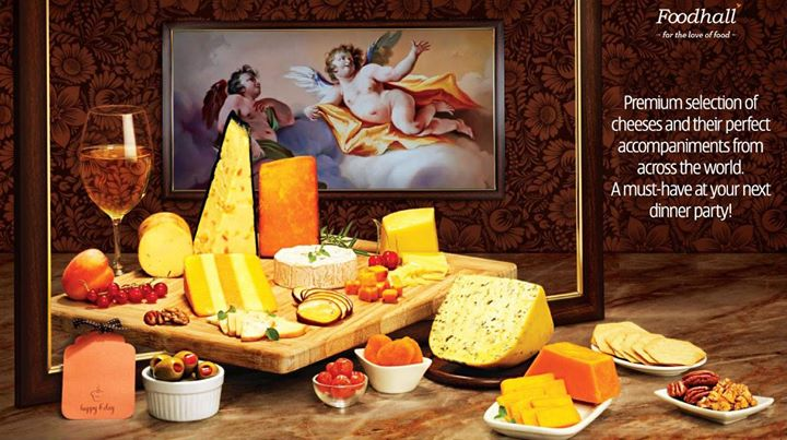 Our exotic cheese platter calls for a lasting impression at a dinner party!