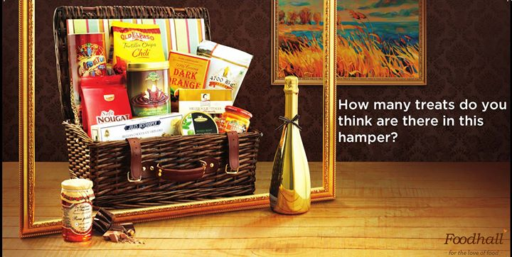 Can you guess the number of items in the hamper below? #JustForFun