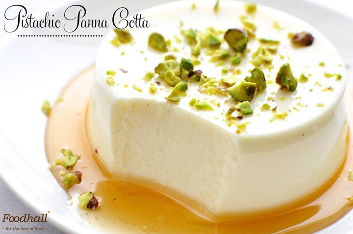 Relish the goodness of pistachios in this light and delicate dessert at Foodhall. Dig in!