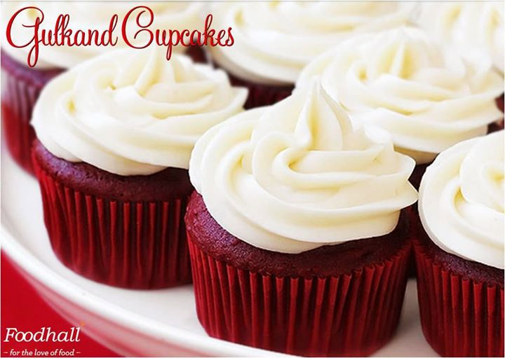 Because a CupCake can make everything better :)  Pamper your taste buds with mouthwatering Gulkand Cupcakes at our store