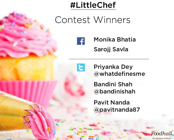 Thank you for helping us discover our #LittleChef   Congratulations and a very Happy Children's Day to all our talented little buddies :D