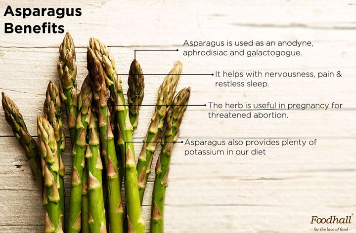 Add it to risotto, soup or even pesto, asparagus is sure to do you good!
