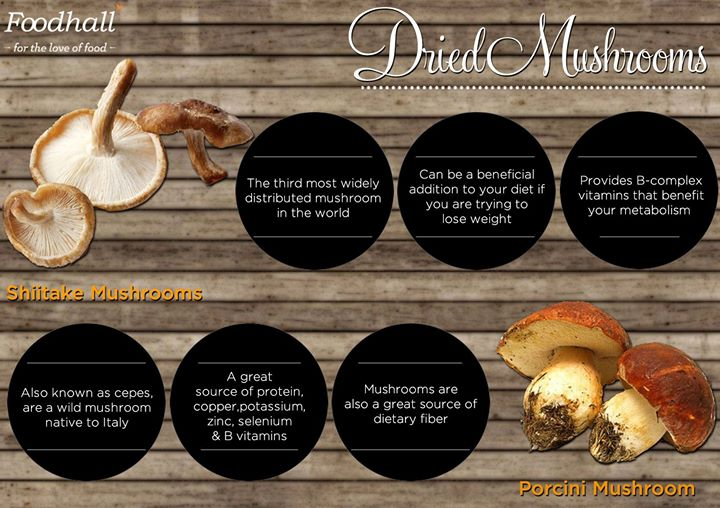 Bring out the flavour in your food with dried mushrooms. Here's more on their health quotient!