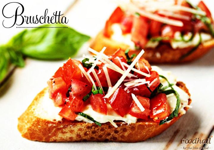 What better than bruschetta to start off an Italian meal with?  Relish it at Foodhall! :D