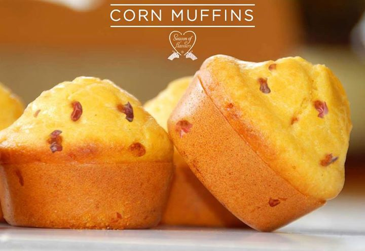 Corn Muffins- Delicious for breakfast, especially warm and slathered with honey butter or jam.