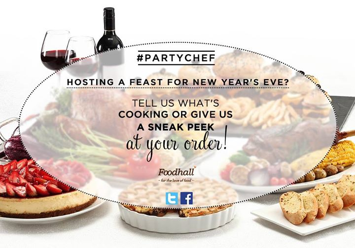 #ContestAlert  We're looking for our #PartyChef! Fond of party food?  Tell us what's on the menu for the party this new year's eve and win goodies