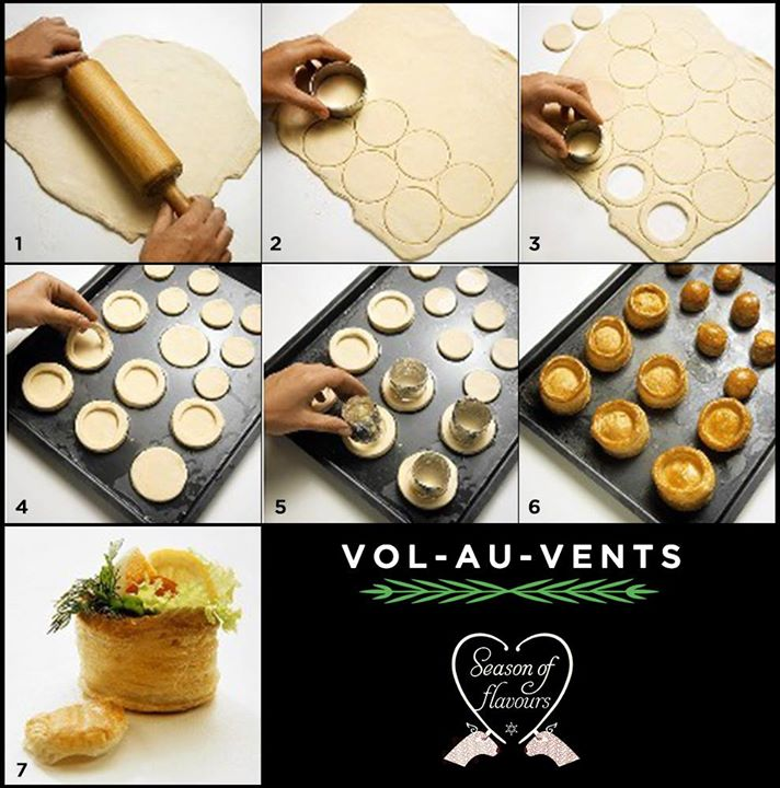 Vol au vents make perfect party food. Here's how you can make them at home; they'll be gone in a flash!