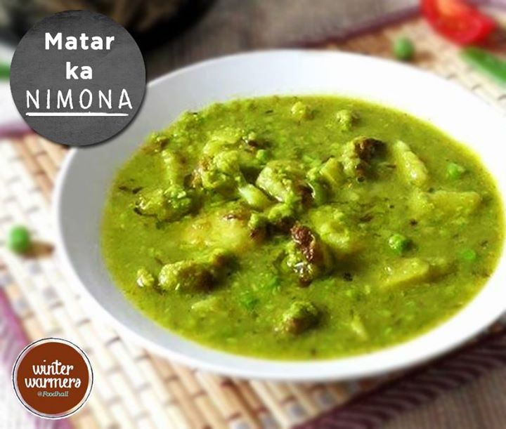 A very popular dish from the North of India, Matar ka Nimona is known to have won the hearts of many!