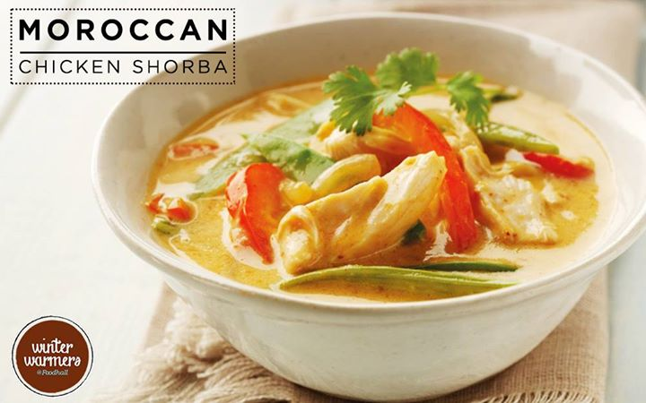 Magic of Moroccan exotica at Foodhall! The perfect bend of sweet and savoury spices in this wholesome shorba