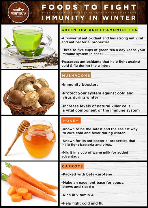 While looking for comfort food this winter, pick the ones that boost your immunity #StayHealthy