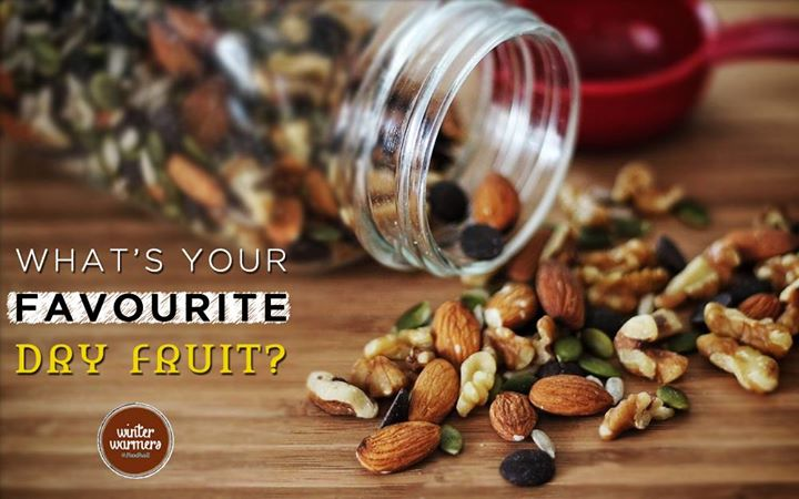 Crunchy almonds, tricky pistachios, tough walnuts, buttery cashews or chewy raisins?  What are you munching on?