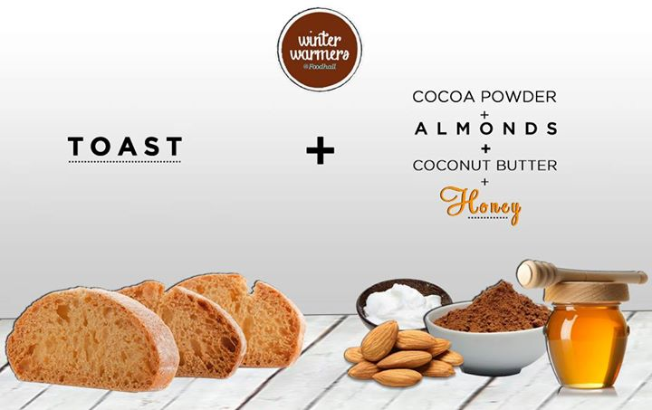 How about some healthy toppings to your crunchy toast?  Probably the tastiest spread for breakfast!