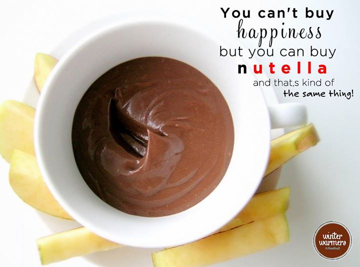 If you're missing out on your dose of happiness, visit Foodhall!   Happy World Nutella Day