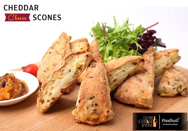 Moist and bursting with cheese, these scones are a big hit at anytime!