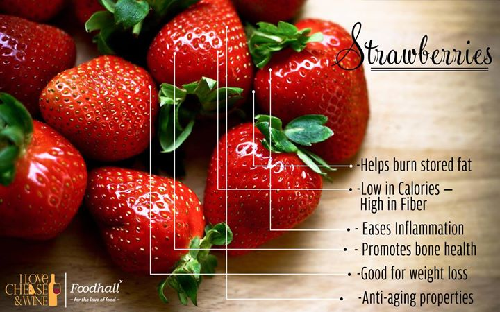 How difficult is it to resist a perfectly ripe strawberry?  Rightly called the 'Queen of  Fruits', strawberries pack in a healthy punch!