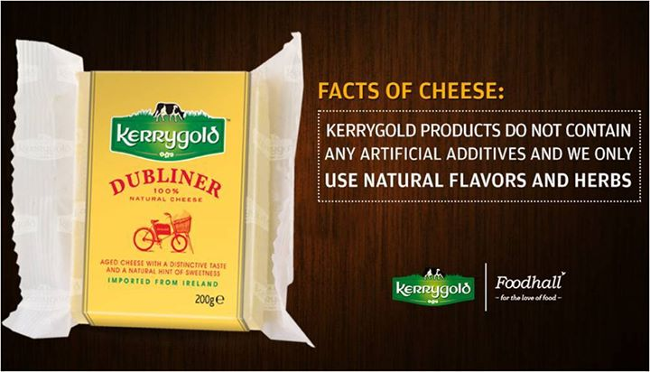 Foodhall,  Facts, Cheese, Irish, Kerrygold