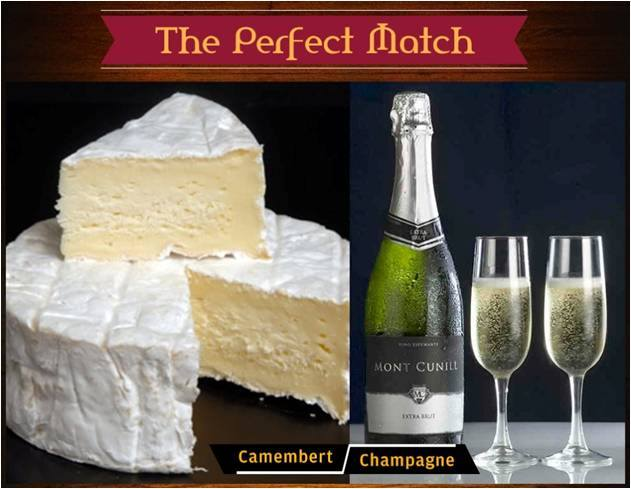 Truly a match made in heaven, wine and cheese are made for each other! Make sure you pair them right
