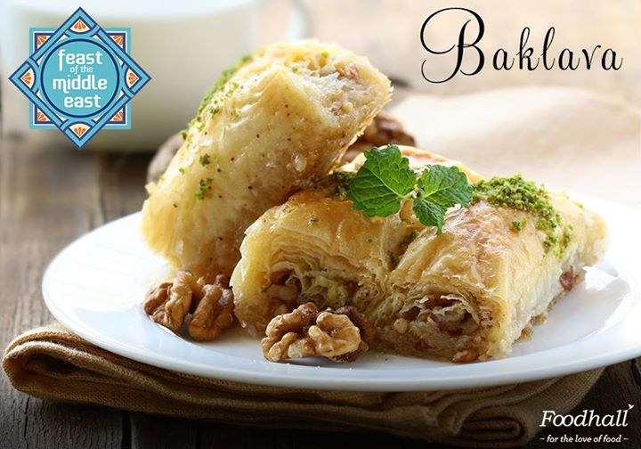 Boasting of Phyllo dough stacked with honey and nuts, Baklava makes for a Mediterranean dessert loved all over the world!