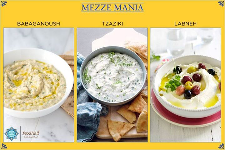 A simple yet great accompaniment to your meal or as a dip.  Try out a variety of Mezzes in our stores!