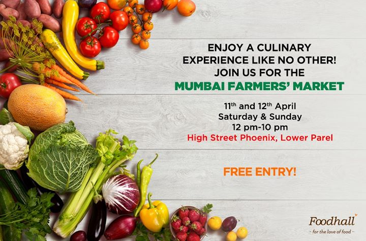 We're excited to be a part of the Mumbai Farmers' Market by Karen Anand  Look out for a fun-filled culinary fiesta and welcome the summers in style @ High Street Phoenix