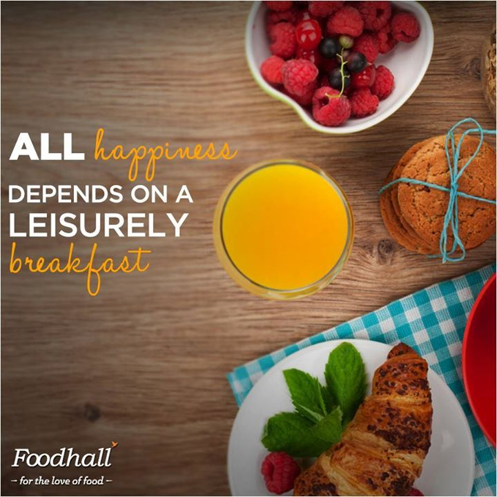 Begin your day on the perfect note with a generous helping of superfoods, organic grains and cereals and freshly baked bread.  Find everything you need to make each morning special at Foodhall!