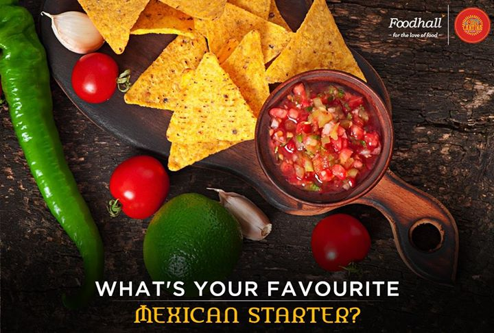 From authentic guacamole to fiery tomato salsa and crunchy tortilla chips, we've got great Mexican starters and snacks to get your fiesta started! Tell us what's your favourite?